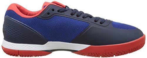 Lacoste Lt Pro 117 2 Spm Blu/Red, Basses Homme Bleu (Blu)