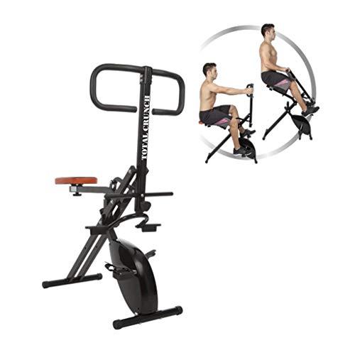 Gimnasio Total Crunch Evolution, gimnasio completo en tu casa, bicicleta estática incorporada