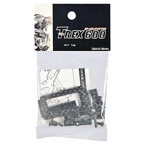 Spare Parts Servo Plate CF Carbon T-Rex 600N Align HN6070T Align HN6070T 860085