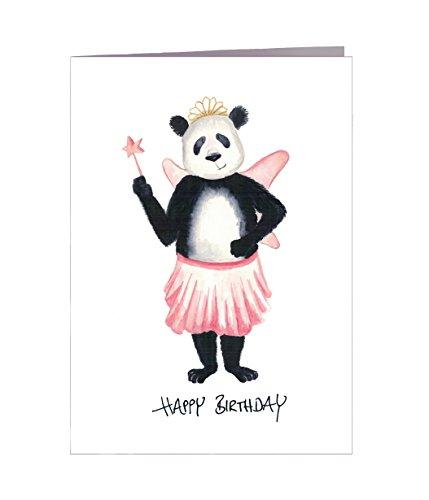 Geburtstagskarte lustig Happy Birthday Tiere 5er Set – Handmade – 100% Recyclingpapier – Glückwunschkarten-Set mit Umschlag Geburtstag Geburtstagskarten