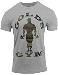 Gold's Gym Camo Silhouette Tee