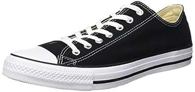 Converse Chuck Taylor All Star Low Top Unisex Canvas Oxford Shoes (4 Mens D(M) US/6 Womens B(M) US, Black)