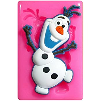 Frozen Olaf Silikon Backform 38030 NEU von Knorrtoys Kinderspielzeug Kinder