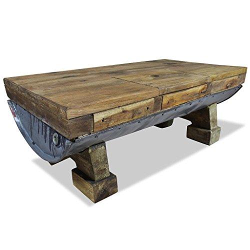 Altholz Tisch (vidaXL Couchtisch Altholz Retro Tisch Beistelltisch Wohnzimmertisch Sofatisch)