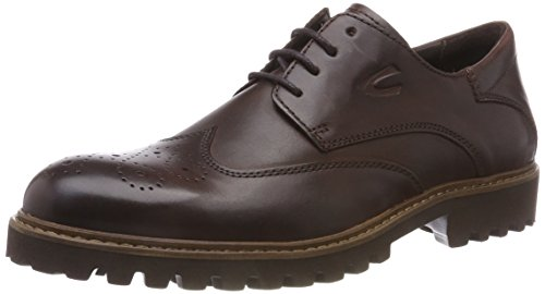 camel active Herren University 21 Brogues, Braun (Chestnut 1), 43 EU