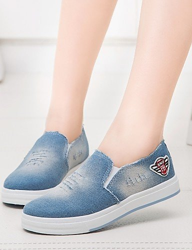 ShangYi Scarpe Donna - Mocassini - Casual - Comoda / Punta arrotondata - Plateau - Di corda - Blu / Royal Blue Light Blue