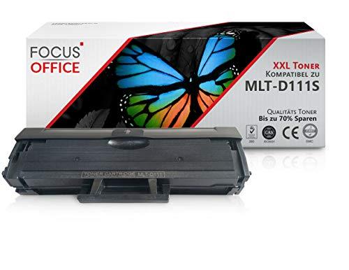1 X FOCUS-Office XXL Toner compatibile per Samsung MLT-D111S MLTD111S, D111, 111S Xpress M2026 M2026W SL-M2070 SL-M2070W M2070F M2070FW M2020 M2020W M2022 M2022W stampante laser