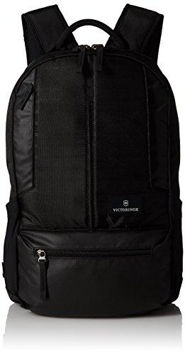 "Victorinox Altmont 3.0 Tela, Cuero Negro mochila - Mochila para portátiles y netbooks (Tela, Cuero, Nylon, Negro, 25,4 cm (10""), 39,6 cm (15.6""), 320 mm, 170 mm)"