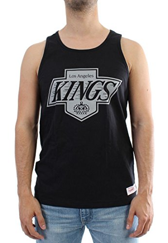 Mitchell & Ness Teamlogo Tank Men - LA KINGS - Black Schwarz