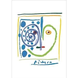 Paris - Musée Picasso - Ceci est mon cœur - Carte postale 10,5 x 15 cm
