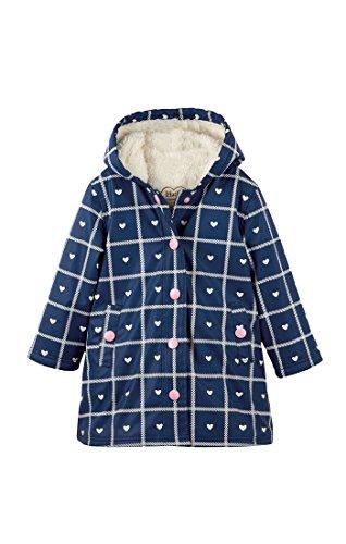Hatley Girl's Sherpa Splash Rain Jacket