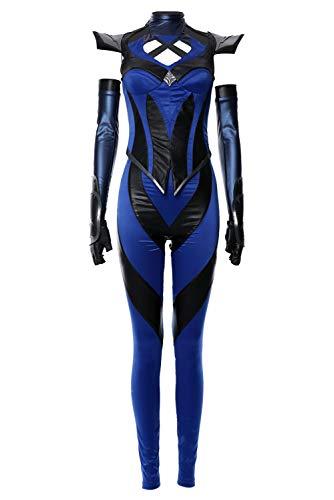 Kombat Cosplay Kostüm Mortal - RedJade Mortal Kombat 11 Kitana Cosplay Kostüm Damen L