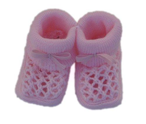 Nursery Time-Chaussons de naissance, rose.