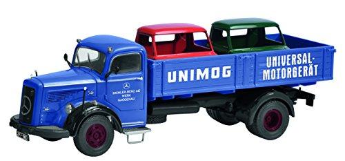 Preisvergleich Produktbild Schuco 450302600 - Mercedes Benz L6600 Werkverkehr Gaggenau, Maßstab 1:43