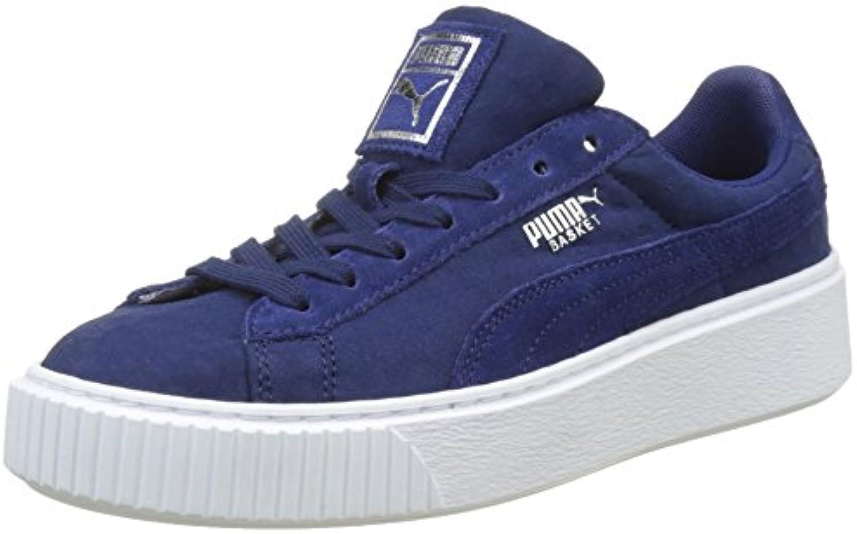 Puma Basket Platform De, Scarpe da Ginnastica Basse Donna | prendere in considerazione  | Uomini/Donne Scarpa
