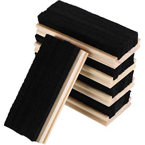 5 Packung Filz Radiergummi Tafel Wollradiergummi Staubfreies Tafel Radiergummi für Kreide und Trocken Abwischbare Brett Reinigung (Kreide-marker, Radiergummi)