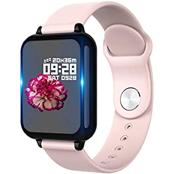 PHIPUDS Smartwatch, Reloj Inteligente Impermeable IP67 con ...