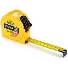 Stabila Messgeräte 16454 Taschenbandmaß BM 30 SP / 5 m, cm und inch