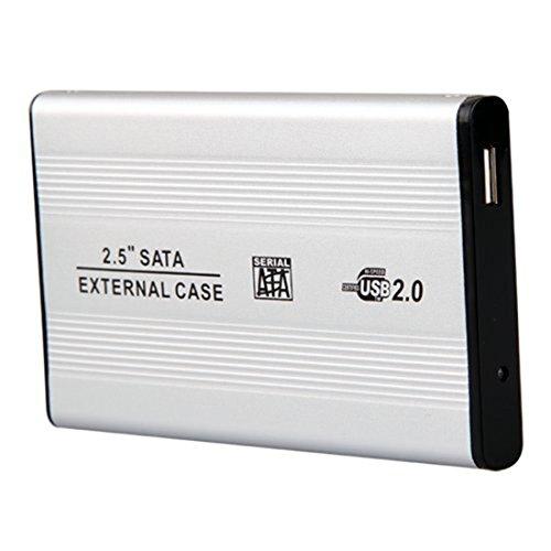 "Sata CAsing-Black External 2.5"" Hard Disk Drive for Laptop - Multi Colour"
