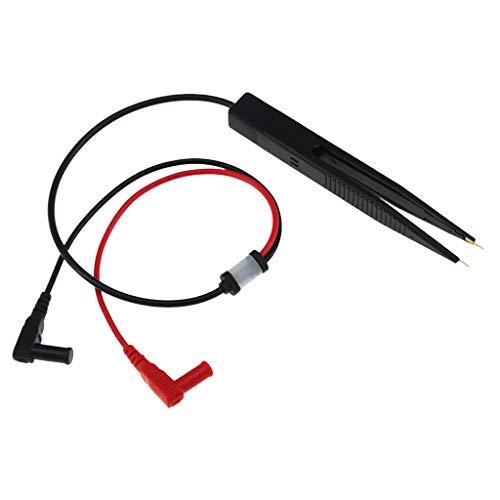 SM SunniMix Pinzette Clip Prüfspitzen Messpinzette für SMD-Bauteile Kondensator