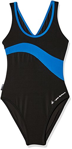 Aqua Sphere Damen Kiwi, mehrfarbig (blau, schwarz), 134 (Herstellergröße: 6 Jhare)