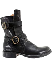 20840d1d9 FIORENTINI-BAKER Women s Shoes Ankle Boots 713-18 Cusna Nero Black New Italy
