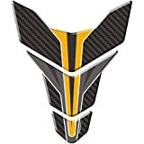 Autographix 1004925 Carbon Wing Bike Tank Pad Graphic Decal
