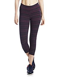 Lavos Women's Capri/Yoga Capri/Gym Capri/Gym Tights/Sports fitness Capri/Active wear – Dash Stripes
