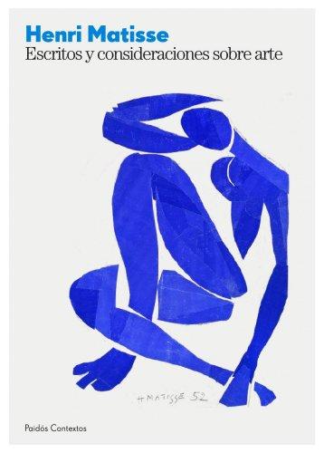 Escritos y consideraciones sobre el arte (Estética) por Henri Matisse