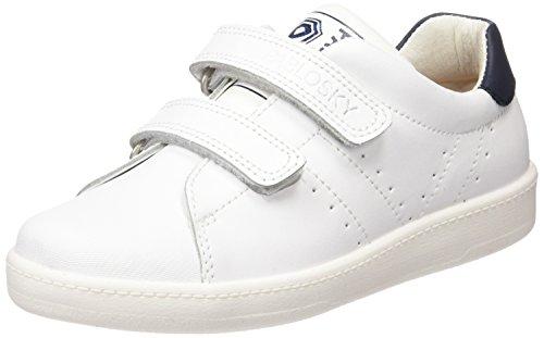 Pablosky Unisex, bambini 259602 Scarpe da Ginnastica Basse Bianco Size: 38