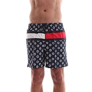 Tommy Hilfiger Flower PRT Flag Trunk, Bañador para Hombre