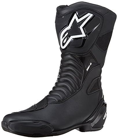 Alpinestars - Motorcycle boots - Alpinestars Smx S Black - 48