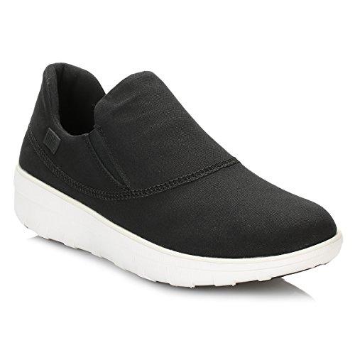 Fitflop Di Loaff Slip-on Nero Sneakers Sportive Nero