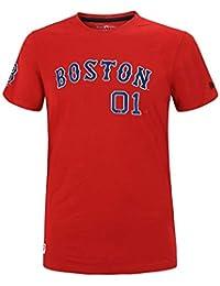 finest selection 3a659 68134 New Era MLB Boston Red Sox Team Apparel Script T-shirt
