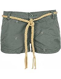 f18870b51274 Eight2Nine hot pant short pour femme avec palm by tiroirs en stick et  ariyas thaishop ceinture