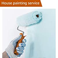 Interior House Painting - 1 Bedroom Flat with and Paint from Dark to Light Color