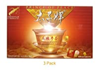 Prince of Peace American Wisconsin Ginseng Root Tea - 20 Bags - 3 Pack