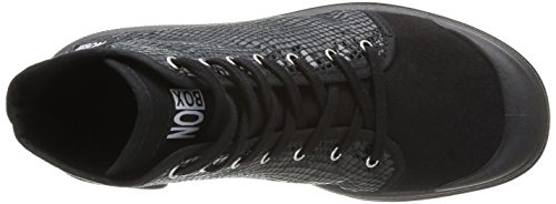 No Box Galia, Baskets mode femme Noir (Snake Black)