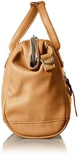 Anello Mini PU cuir 2 Way Boston Sac Grey Beige
