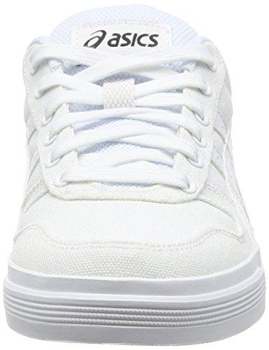 Scarpe Da Asics Ginnastica Adulti bianco Misti Bianco Bassi Aaron 4w4OFqI