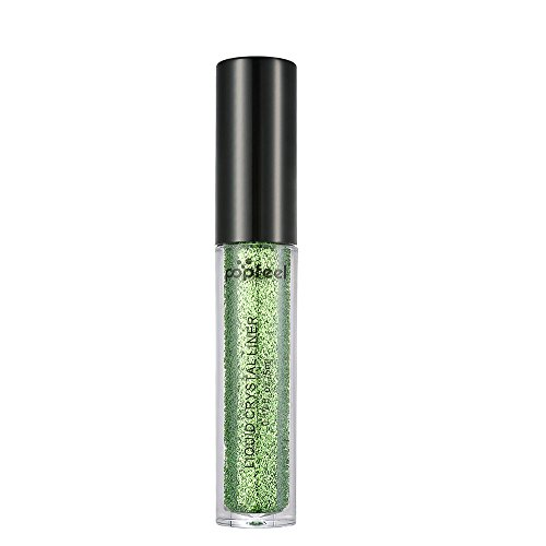 DIANDGE Smoky Eyes Make up Metallic Lidschatten Make-up Perle Metallic Glitter Lidschatten Pulver (12 Farben) (Mehrfarbig #11)