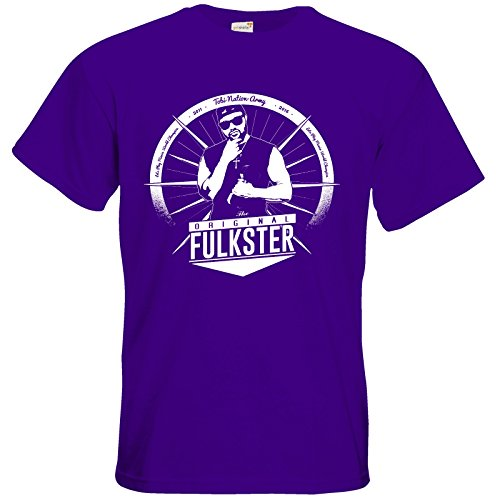 getshirts - Tobinator Official Merchandise - T-Shirt - Original Fulkster Purple