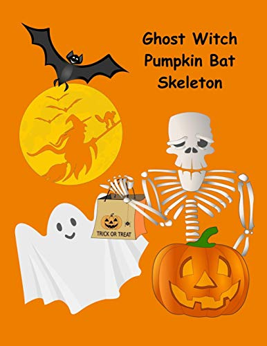 Bat Skeleton: 130 Spooky Drawing & Writing Prompts for Kids (NannyChicks Books Drawing Series for Kids, Band 2) ()