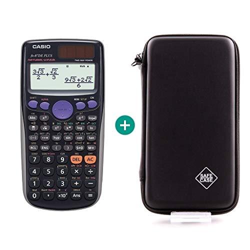 Casio FX-87DE Plus + Schutztasche kompatibel mit Casio