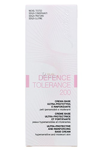bionike defence tolerance 200 crema base ultra-protettiva e rinforzante - 50 ml.