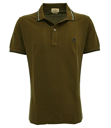 POLO CLASSICAtroncov0042 Brooksfield Polo light piquet Marrone 56 Uomo