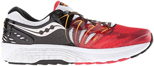 Saucony Hurricane Iso 2, tour de formation homme RED/WHITE/ORANGE