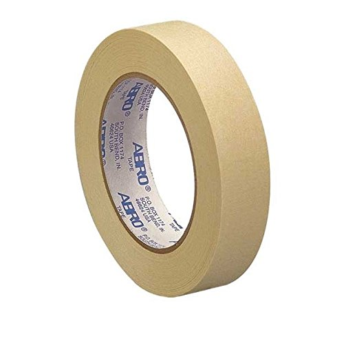 Abro Masking Tape, 1 inch - Pack of 6