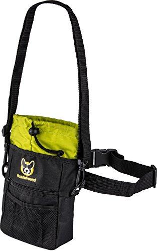 Pochette à friandises pour chien   Sac à friandises 4 en 1 avec ceinture,  clip ceinture, boucles de ceinture et bandoulière   Pochette avec 4  compartiments ... 639b06587e2