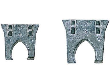 ABC Tools B 35078108Keilrahmen von Sicherheit für Griffe-Schläger, mehrfarbig